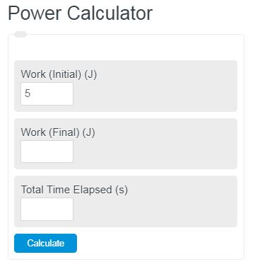 power calculator