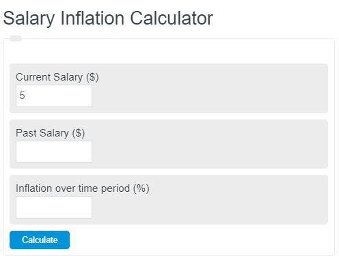 salary inflation calculator