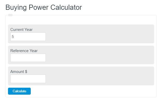 buying power calculator
