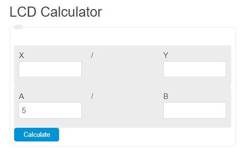 lcd calculator