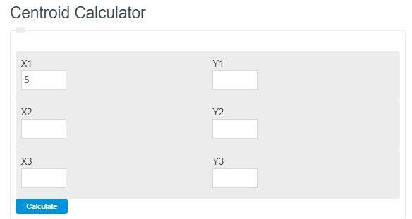 centroid calculator