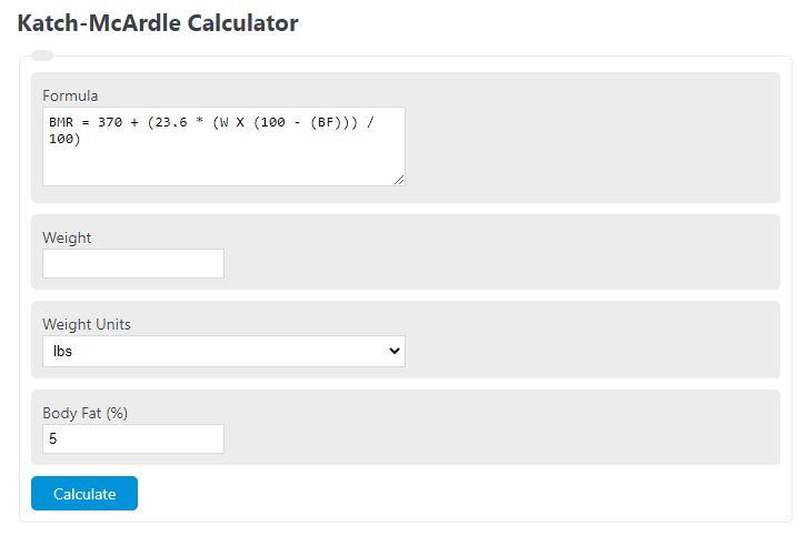 katch-mcardle calculator