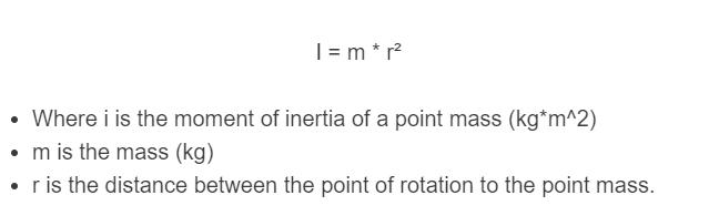 moment of inertia formula