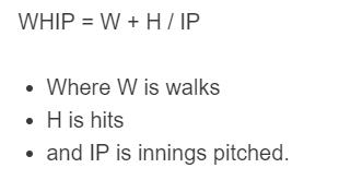 whip formula