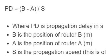 propagation delay formula