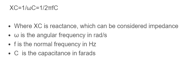 impedance formula