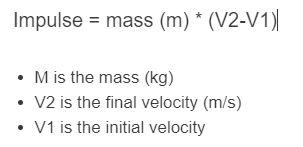 impulse formula