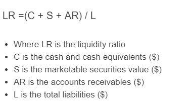 liquidity formula