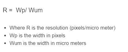 resolution formula