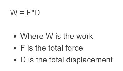 work formula