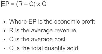 economic profit formula