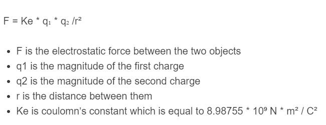 charge formula