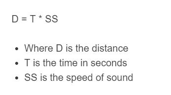 lightning distance formula