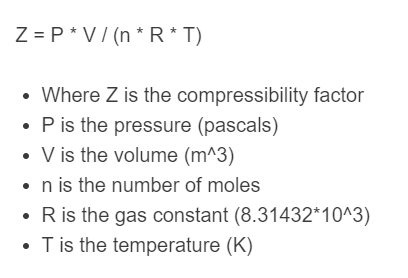 compressibility formula