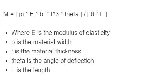 spiral torsion formula