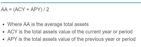 average total assets formula