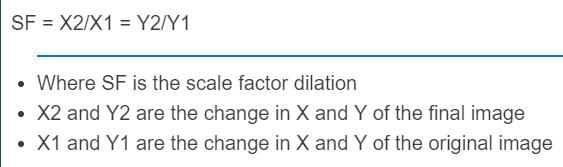 scale factor dilation calculator