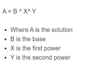 power of a power formula