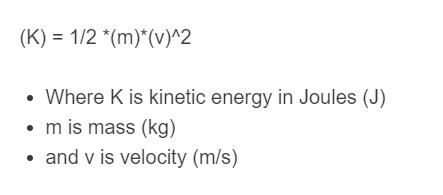 joule formula
