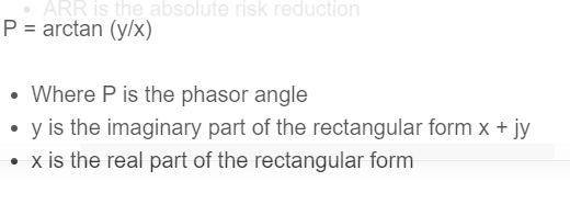 phasor formula