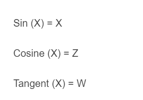 unit circle formula