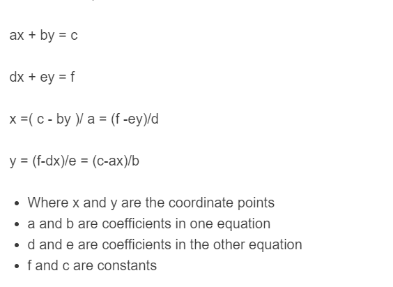 linear combination formula