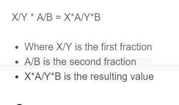 multiply fractions formula
