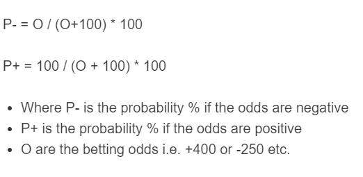implied probability formula