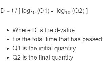 d value formula